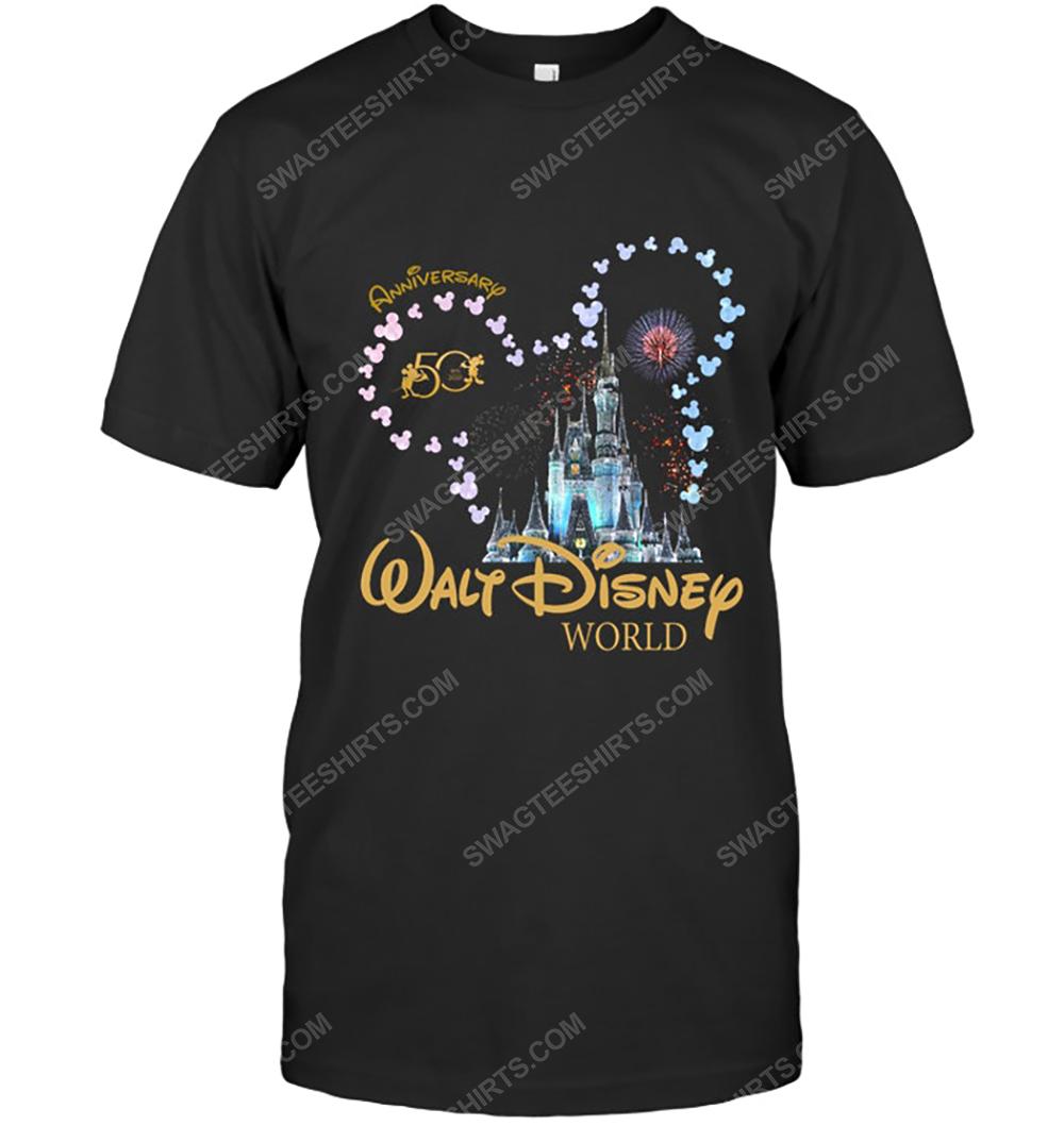 50th anniversary walt disney world tshirt 1