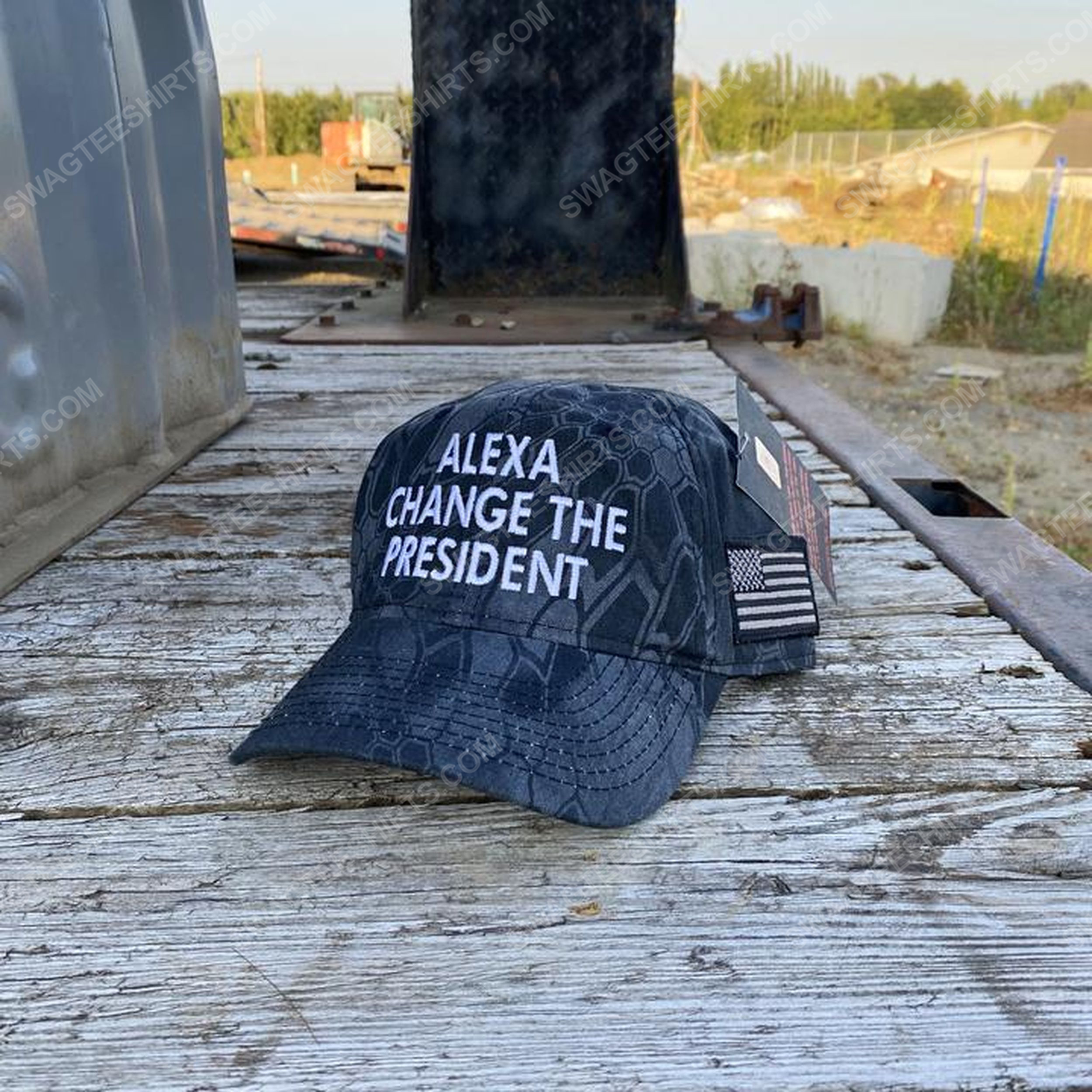 Alexa change the president full print classic hat 1