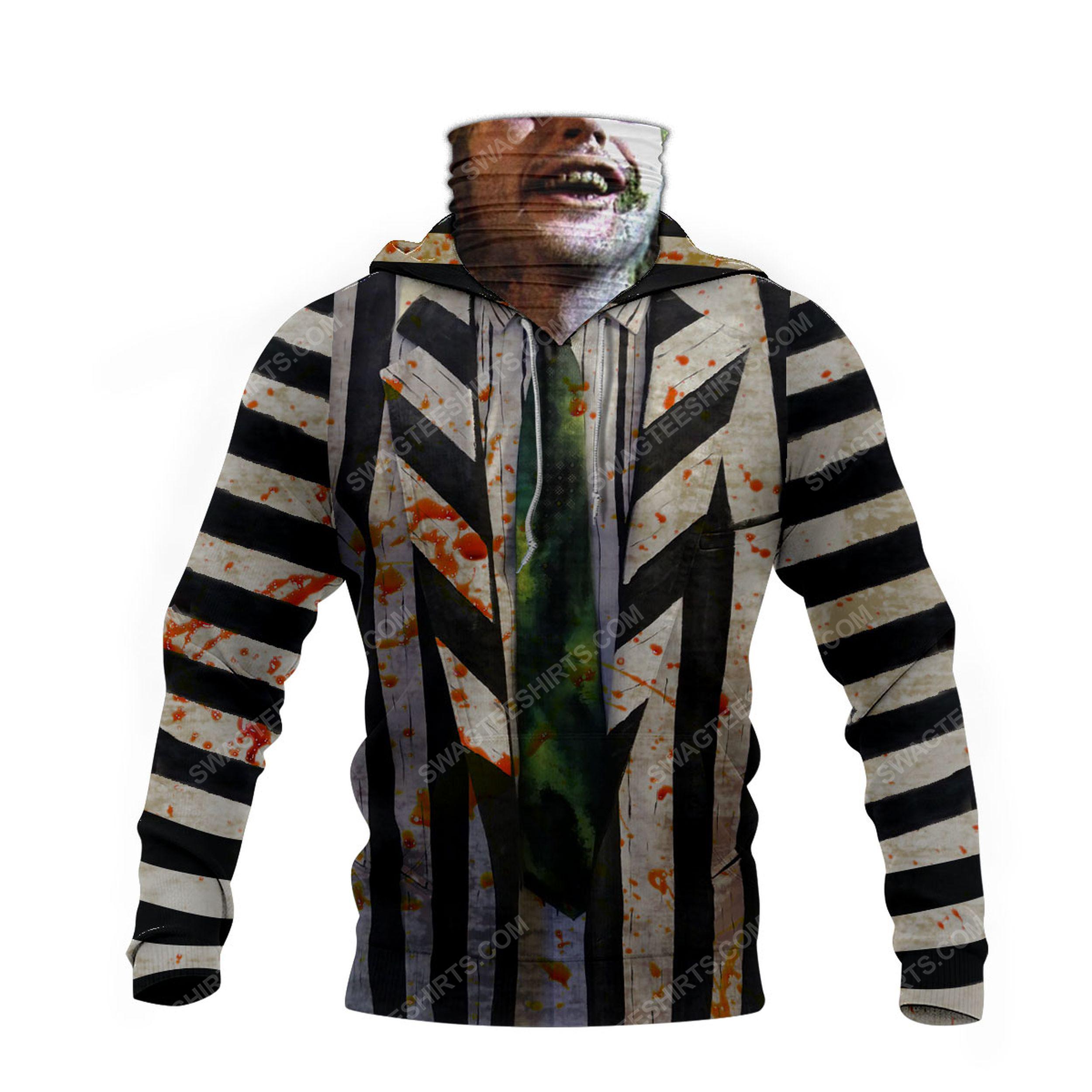 American horror comedy beetlejuice for halloween full print mask hoodie 4(1)