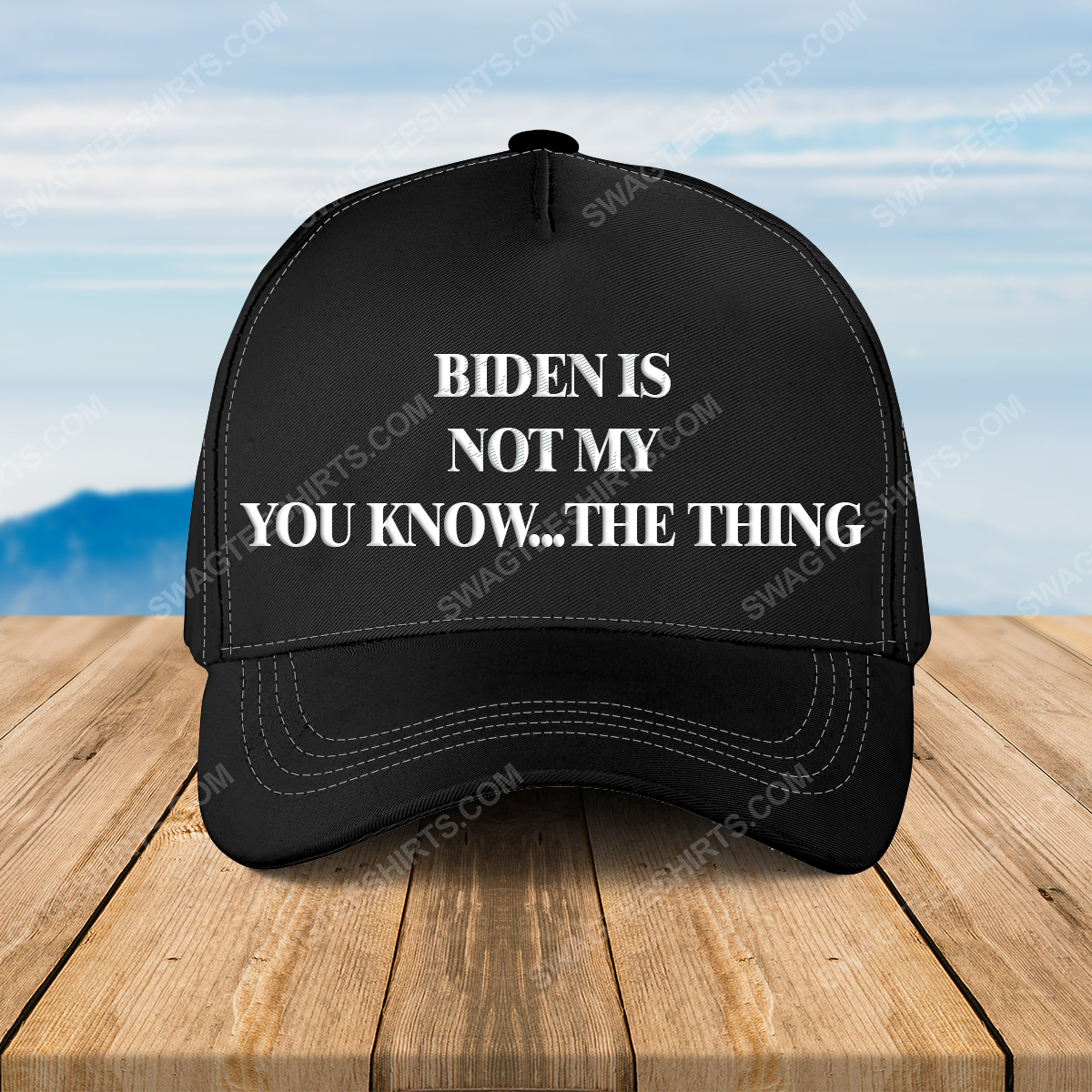 Biden is not my you know the thing full print classic hat 1 - Copy