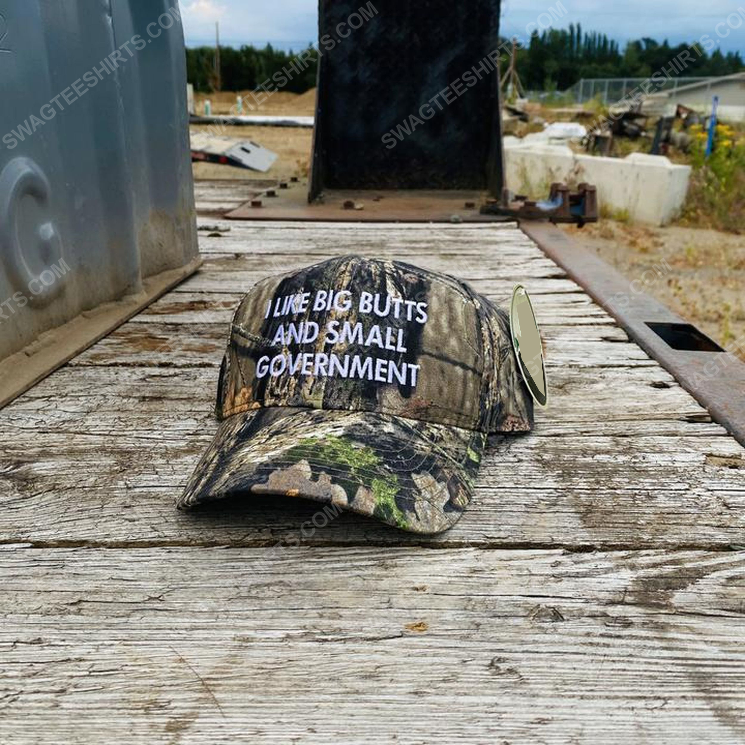 Camo i like big butts and small government full print classic hat 1 - Copy (2)