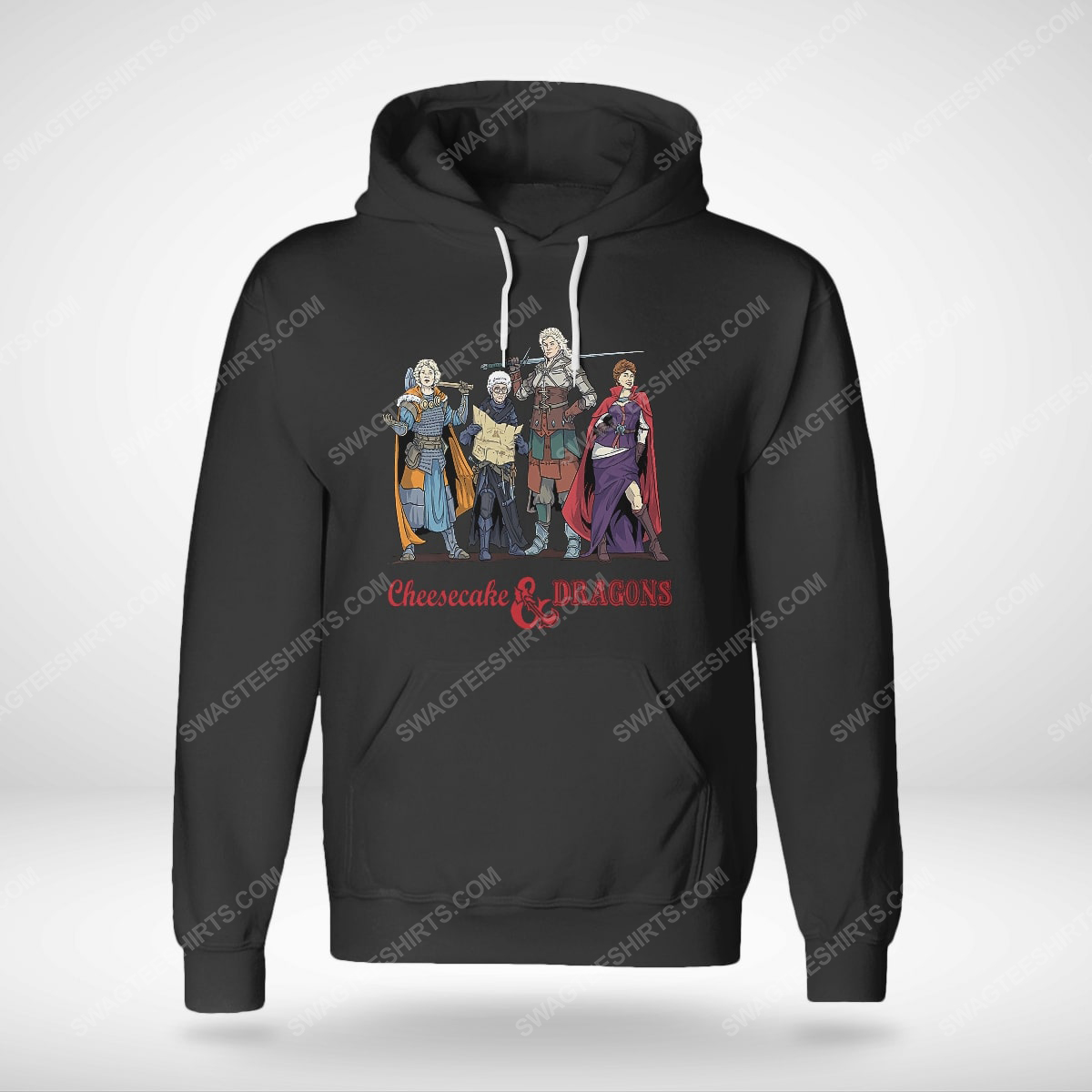 Cheesecake and dragons dungeons the golden girls hoodie(1)