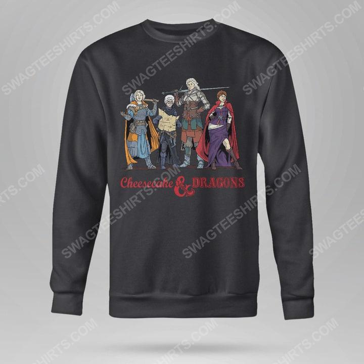 Cheesecake and dragons dungeons the golden girls sweatshirt(1)