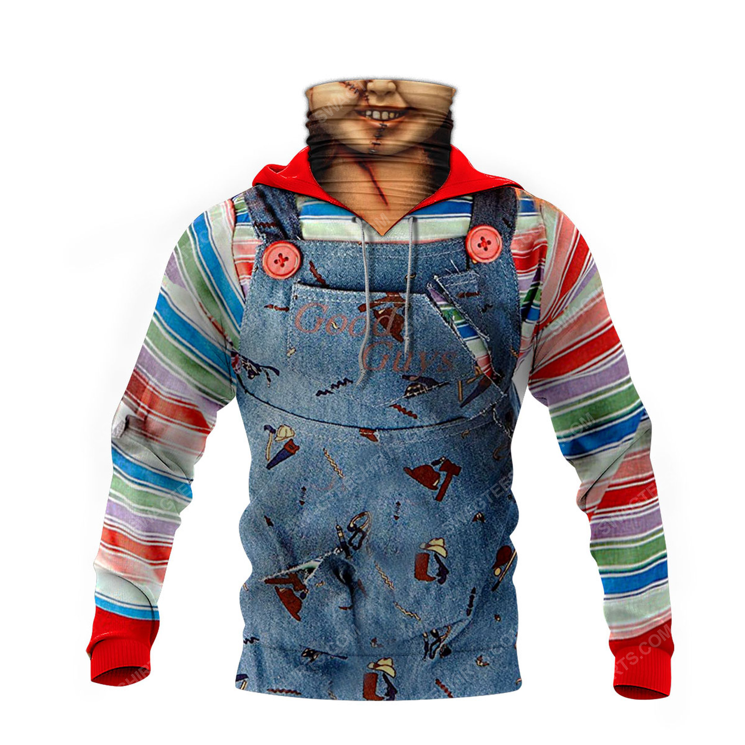 Chucky child's play for halloween full print mask hoodie 4(1)