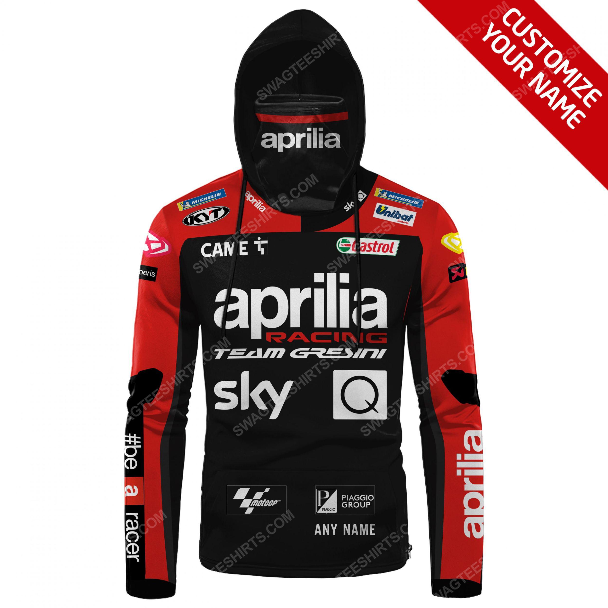 Custom name aprilia racing team gresini full print mask hoodie 2(1) - Copy