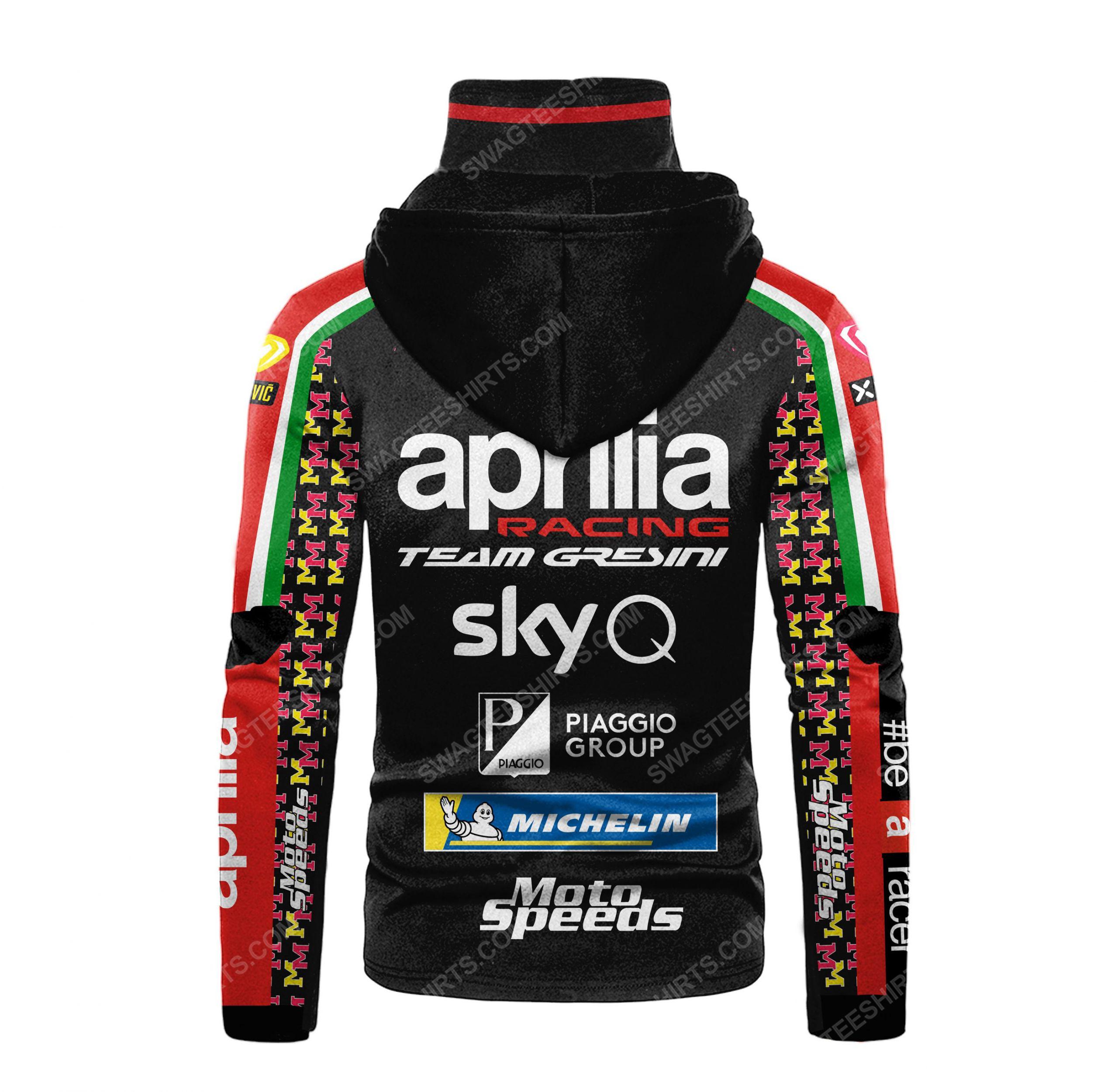 Custom name aprilia racing team gresini full print mask hoodie 3(1) - Copy
