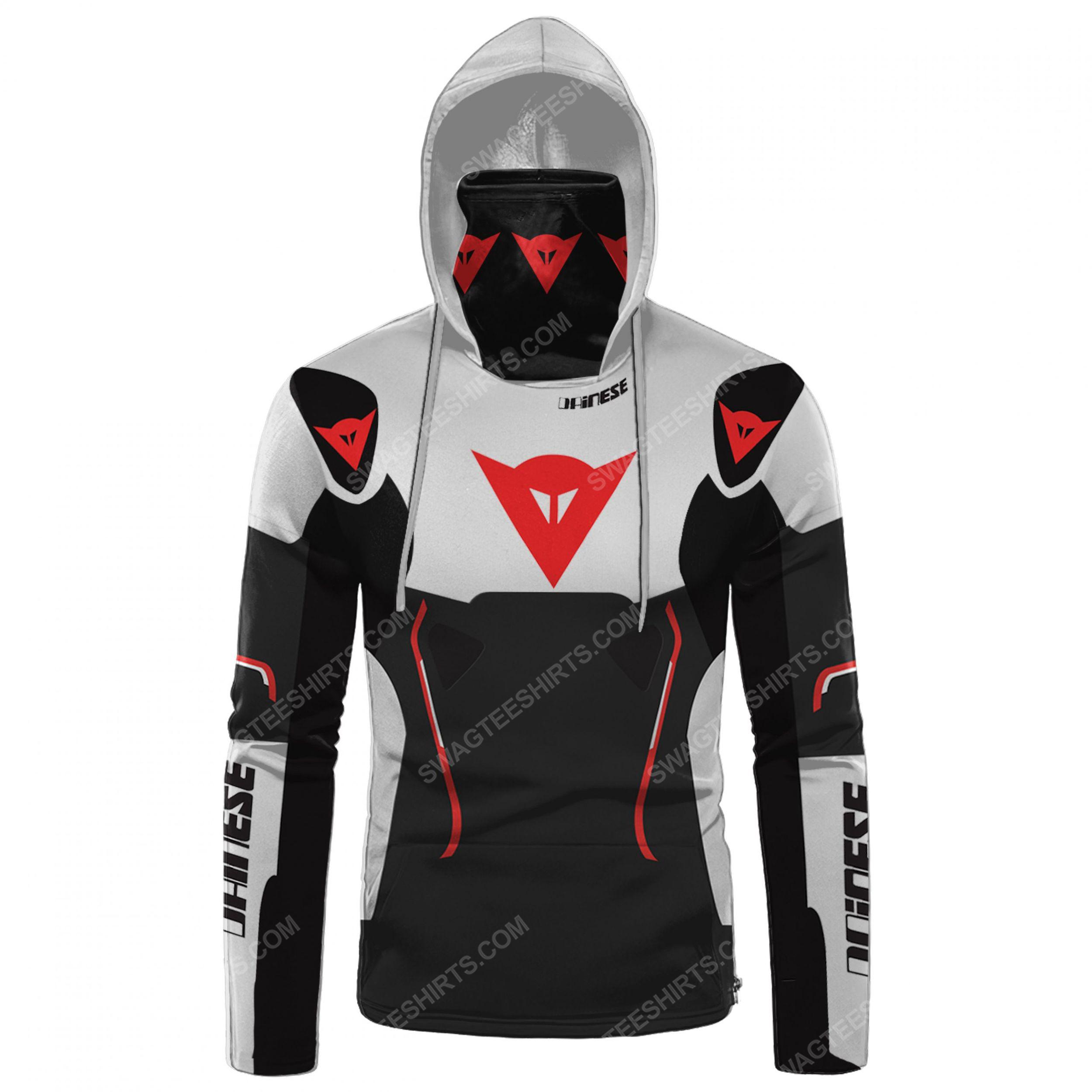 Custom name dainese racing full print mask hoodie 2(1)