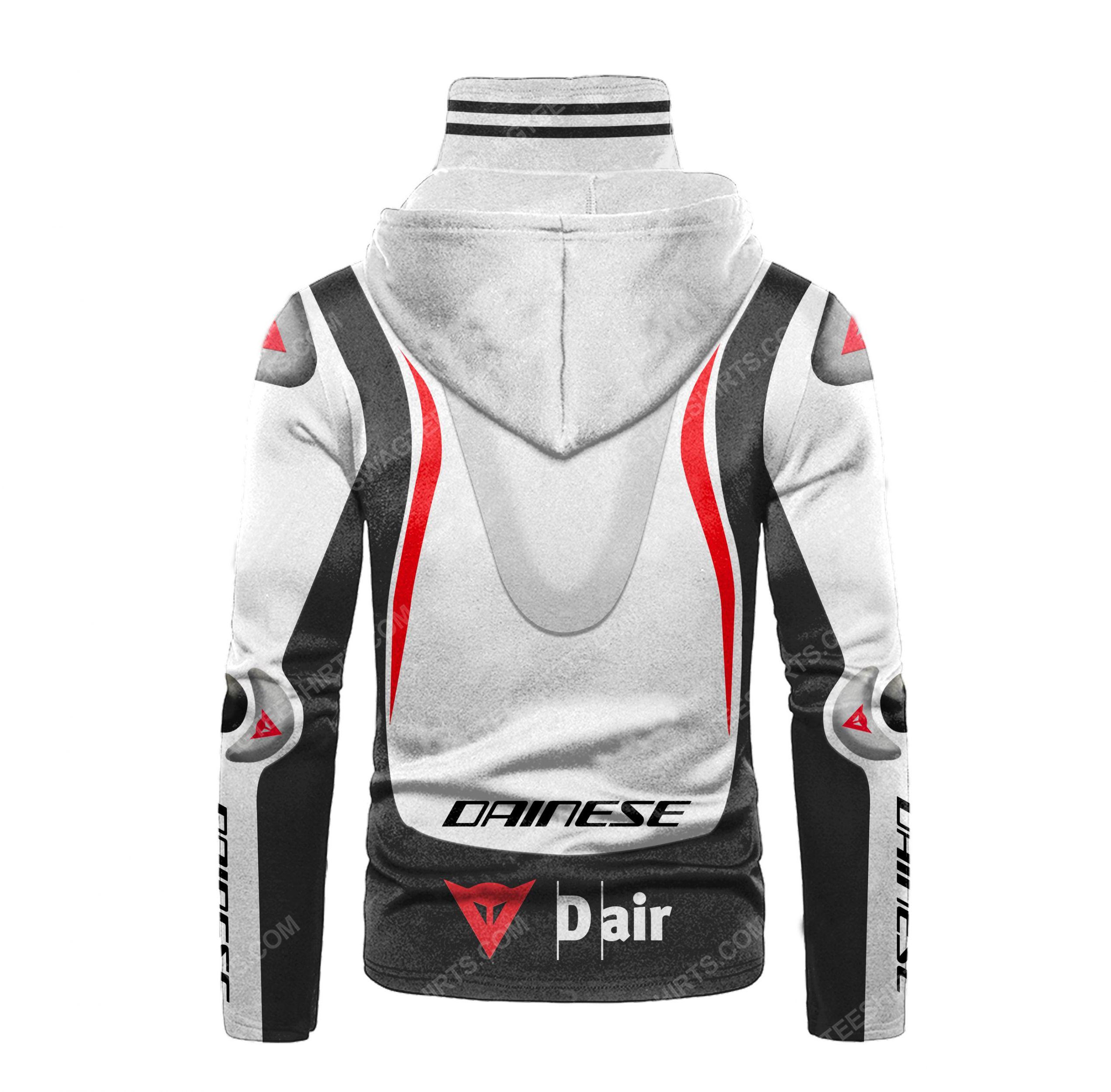 Custom name dainese racing motorcycle full print mask hoodie 3(1) - Copy