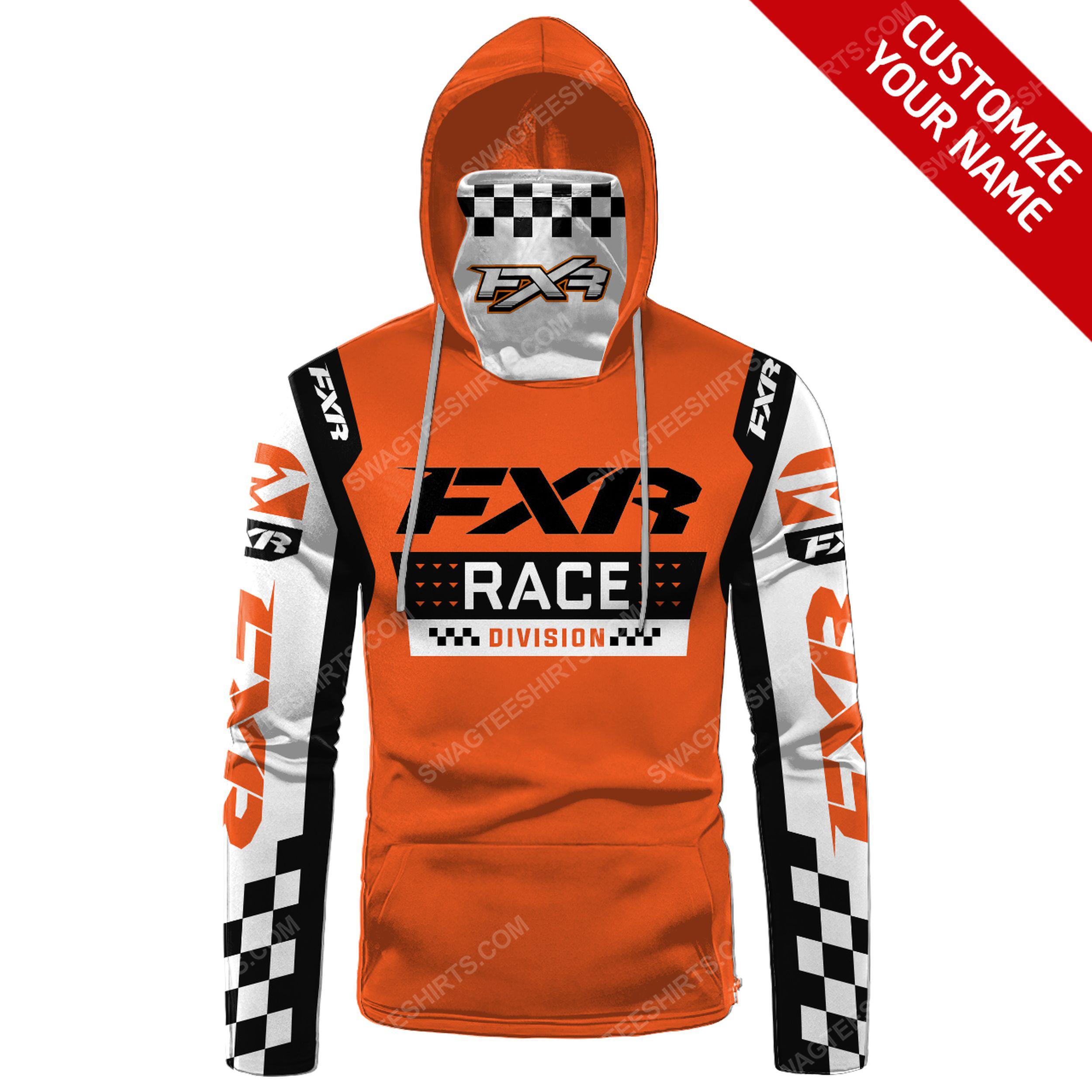 Custom name fxr race division full print mask hoodie 2(1) - Copy