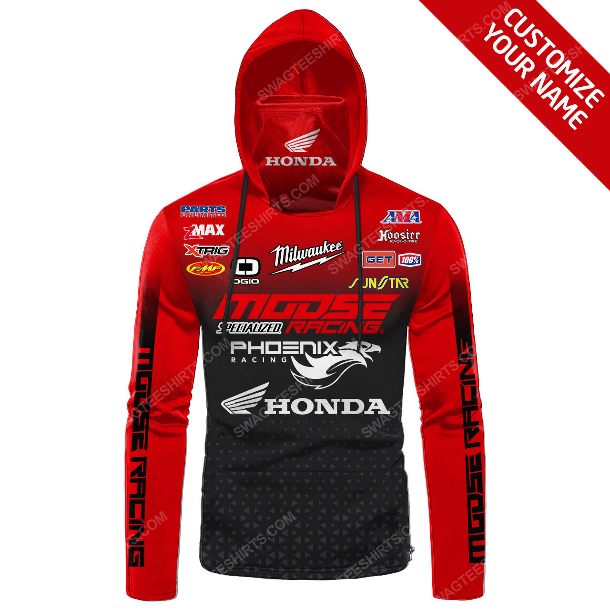Custom name honda racing full print mask hoodie 2(1) - Copy