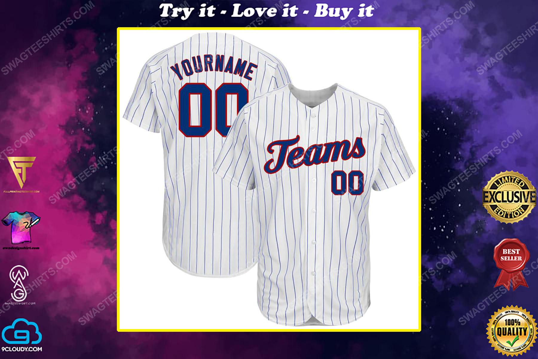 Custom name major league baseball chicago cubs baseball jersey