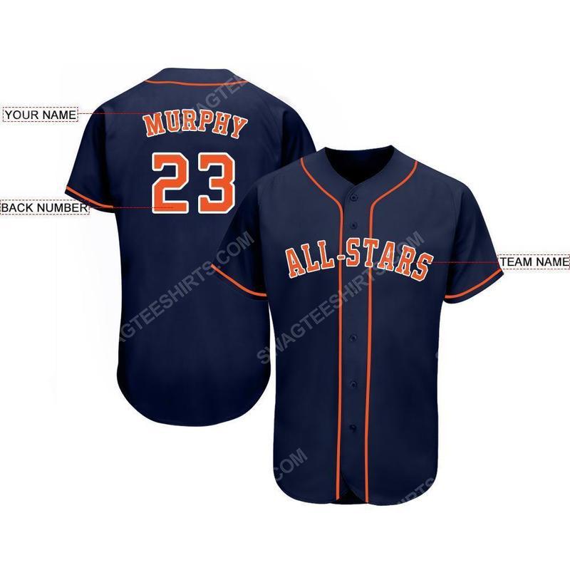 Custom name major league baseball houston astros baseball jersey 2(1) - Copy