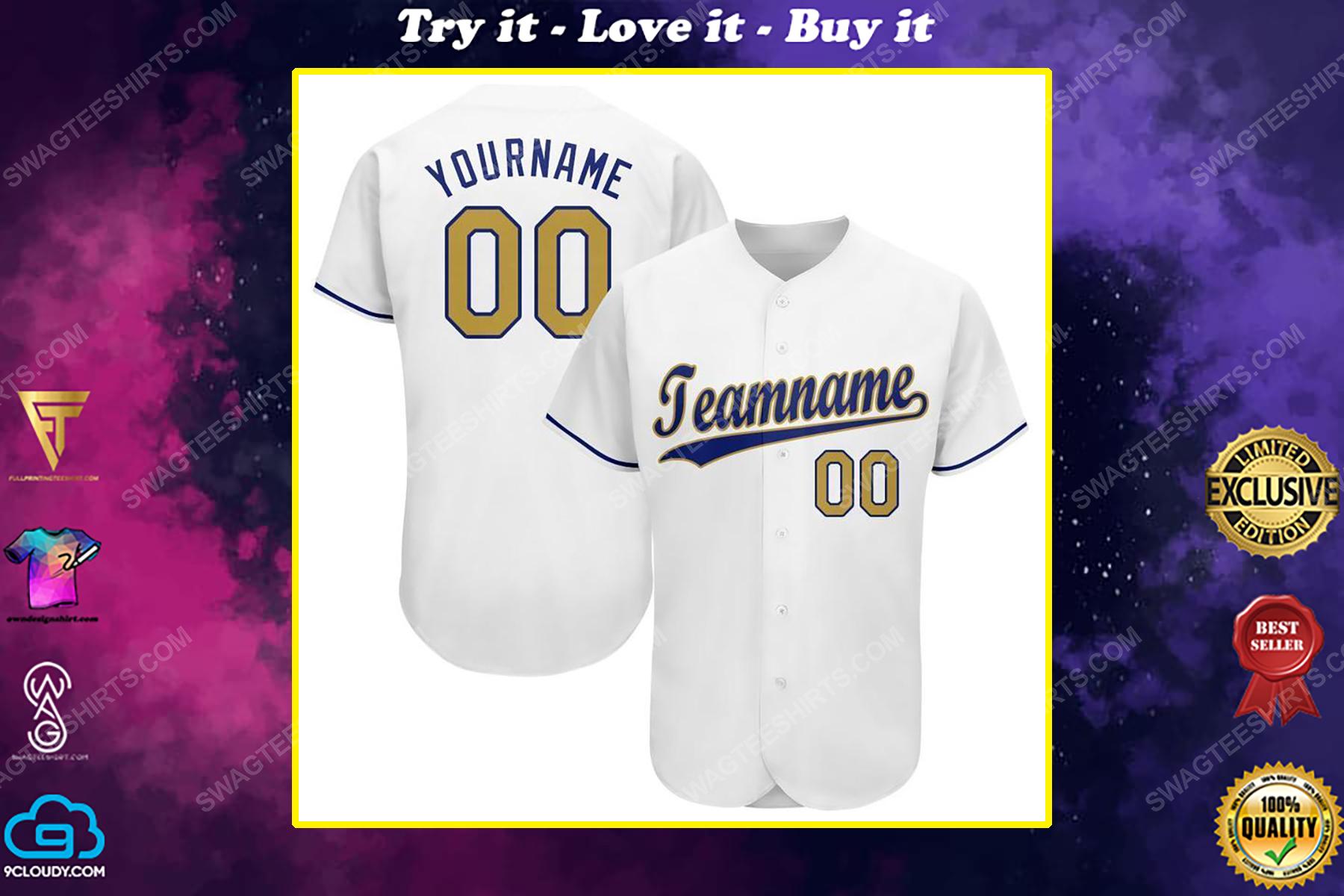 Custom name major league baseball kansas city royals baseball jersey