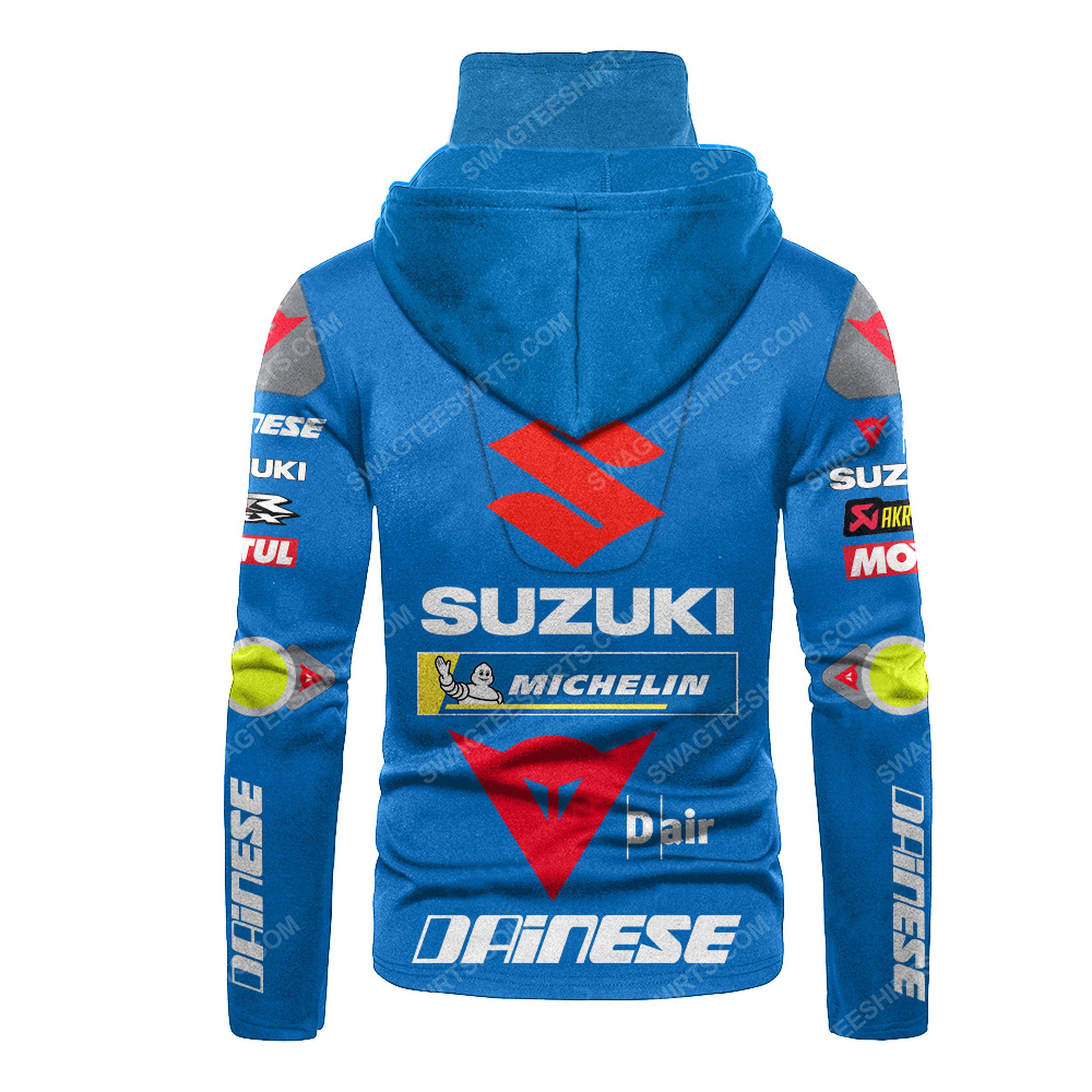 Custom name monster energy suzuki racing full print mask hoodie 3(1)