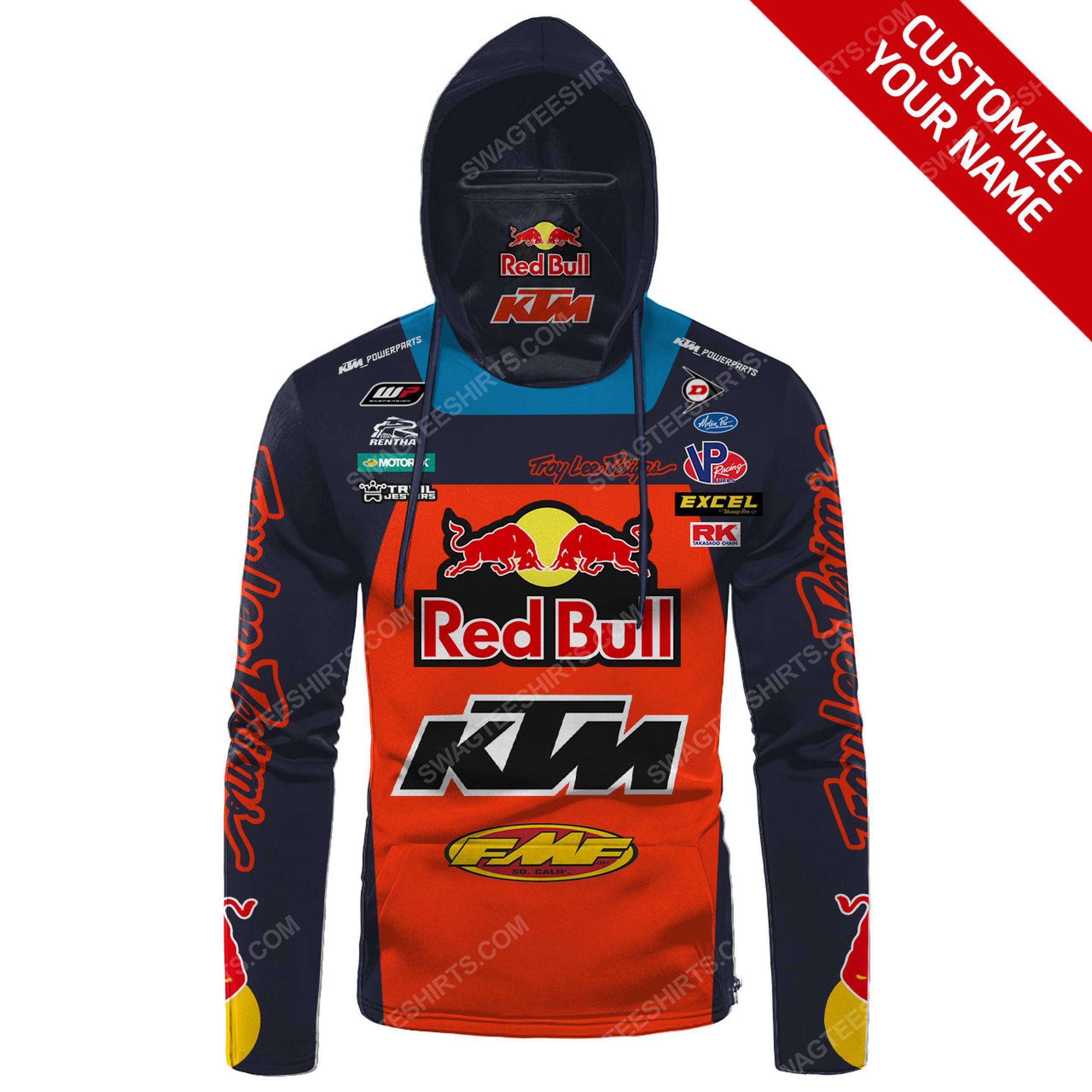 Custom name red bull ktm factory racing full print mask hoodie 2(1)