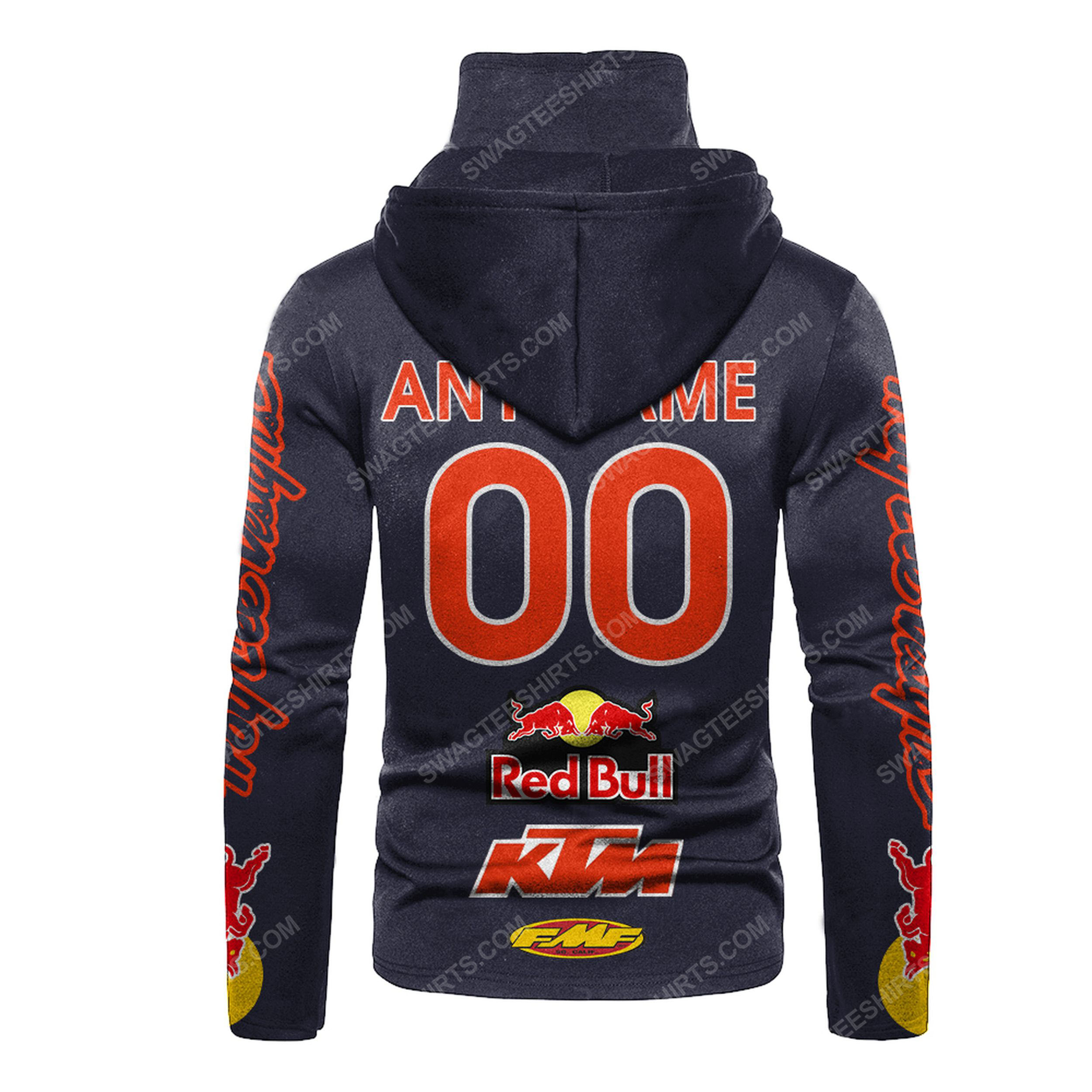Custom name red bull ktm factory racing full print mask hoodie 3(1) - Copy