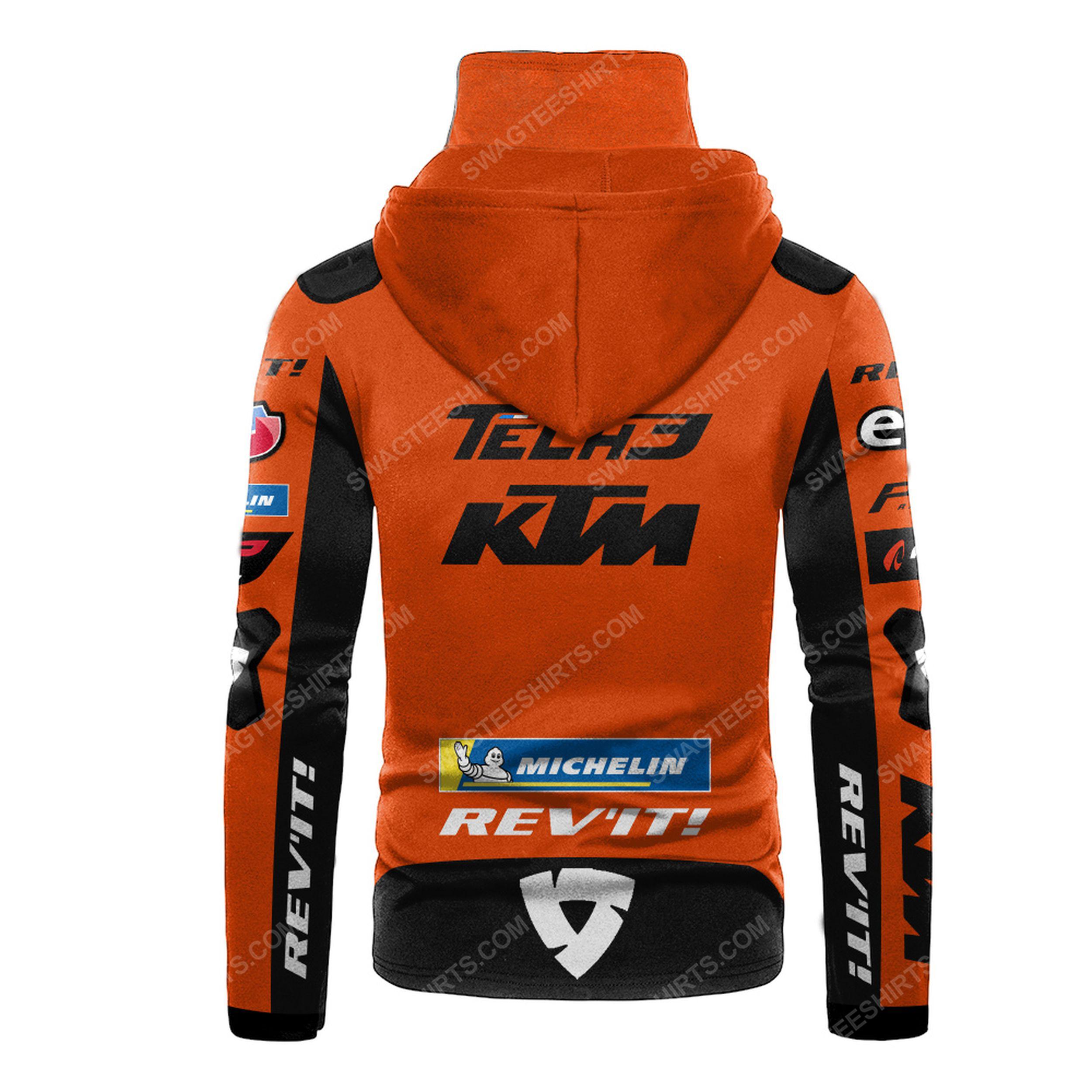 Custom name tech3 ktm factory racing full print mask hoodie 3(1) - Copy