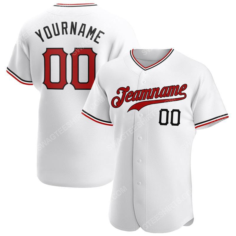 Custom name the cincinnati reds logo full printed baseball jersey 1(1)