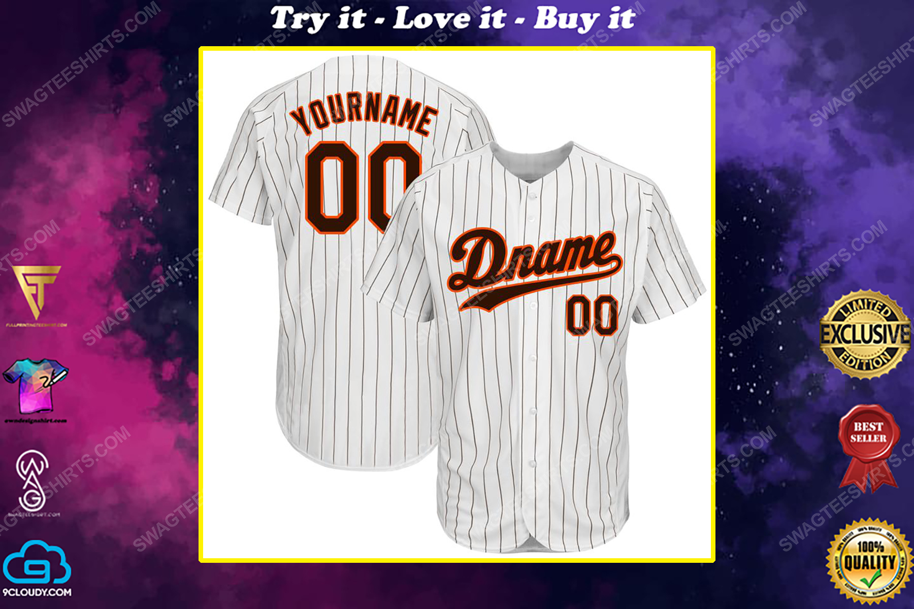 Custom name the san francisco giants team full printed baseball jersey
