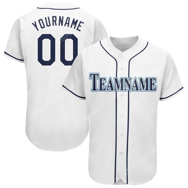 Custom name the tampa bay rays team full printed baseball jersey 1(1)