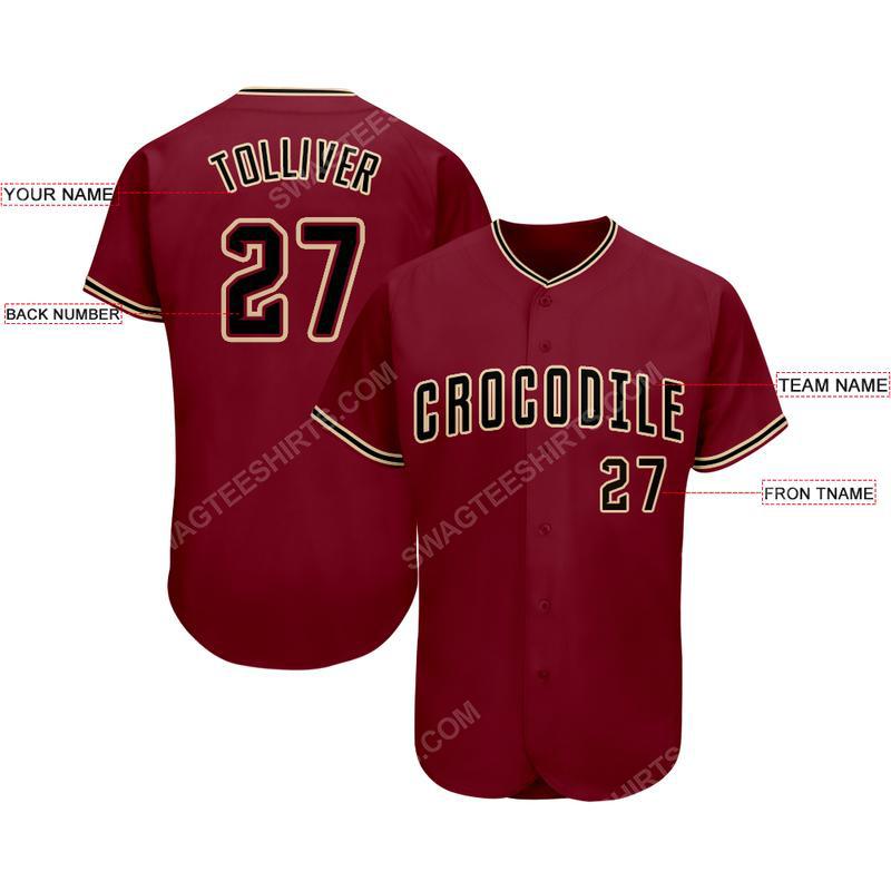 Custom team name arizona diamondbacks full printed baseball jersey 2(1) - Copy