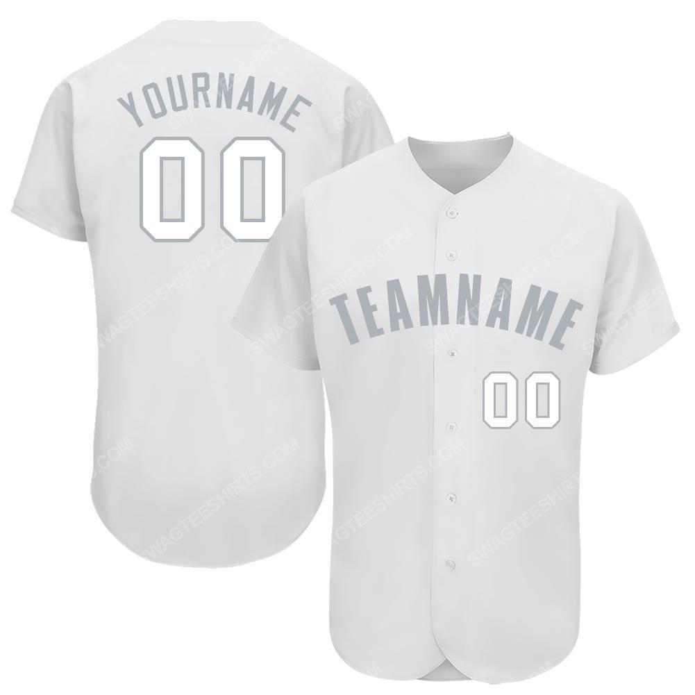 Custom team name chicago white sox baseball full printed baseball jersey 1(1) - Copy