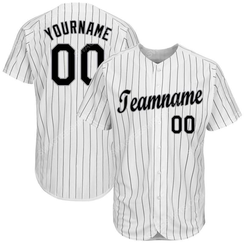 Custom team name chicago white sox baseball jersey 2(1)