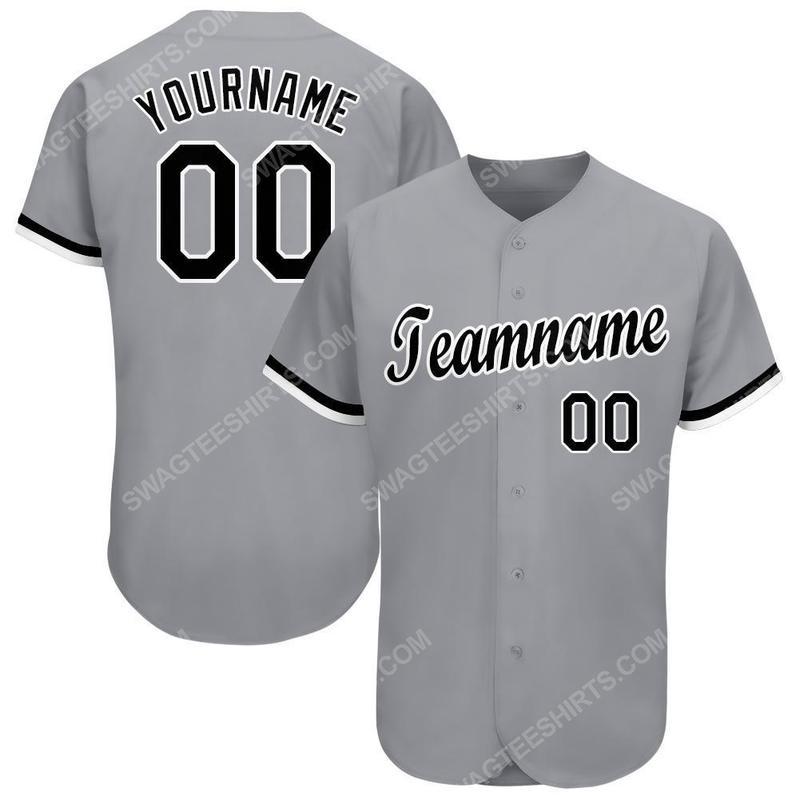 Custom team name chicago white sox major league baseball baseball jersey 2(1)