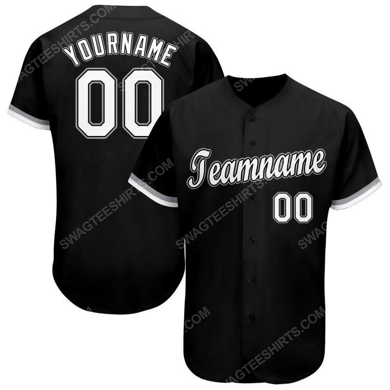 Custom team name chicago white sox mlb full printed baseball jersey 1(1)