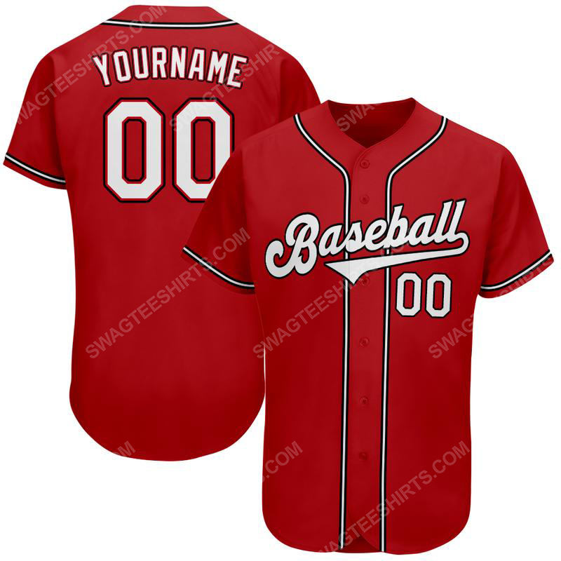 Custom team name cincinnati reds mlb full printed baseball jersey 2(1) - Copy