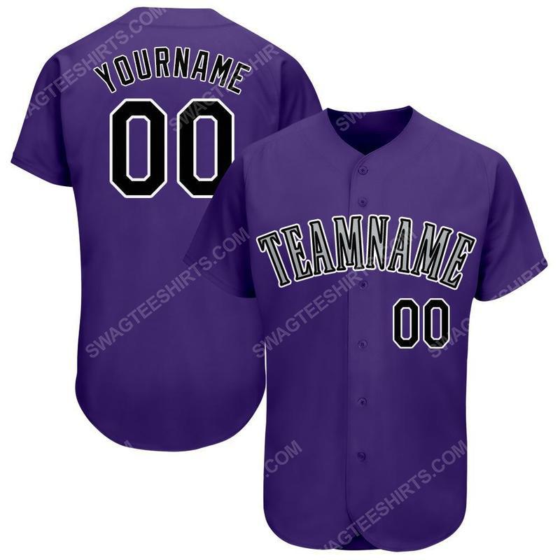 Custom team name colorado rockies full printed baseball jersey 2(1)