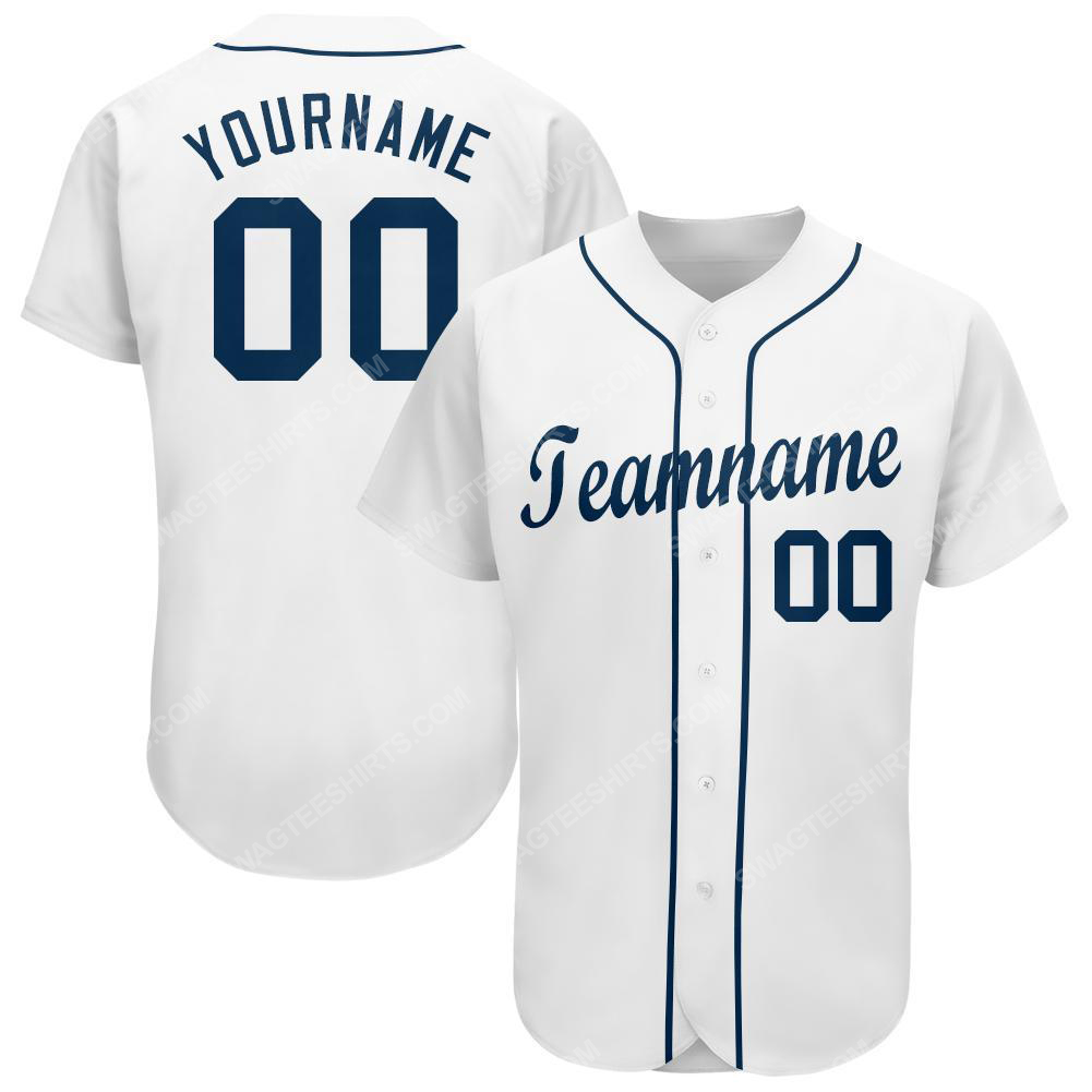 Custom team name detroit tigers full printed baseball jersey 1(1)