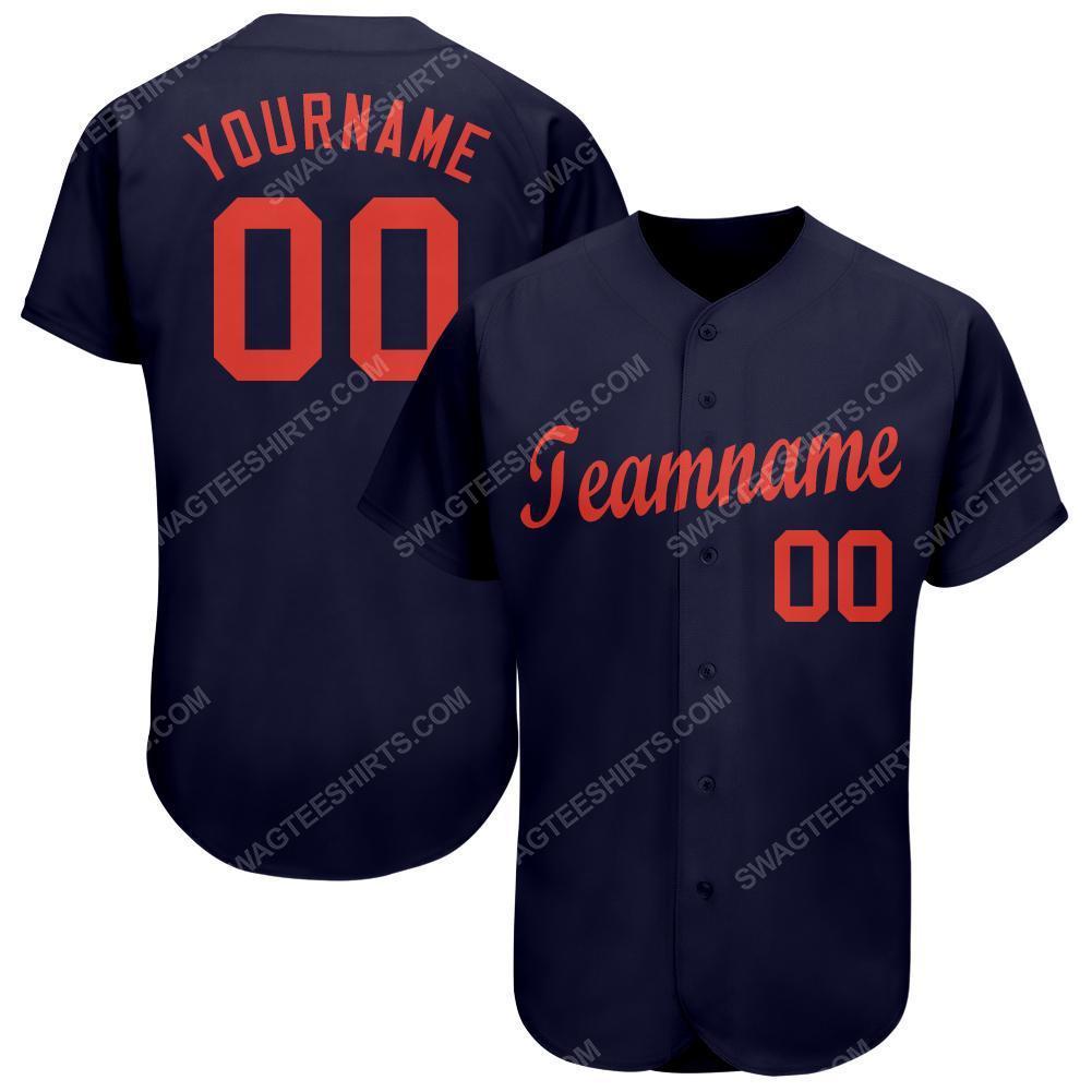 Custom team name detroit tigers major league baseball baseball jersey 1(1)