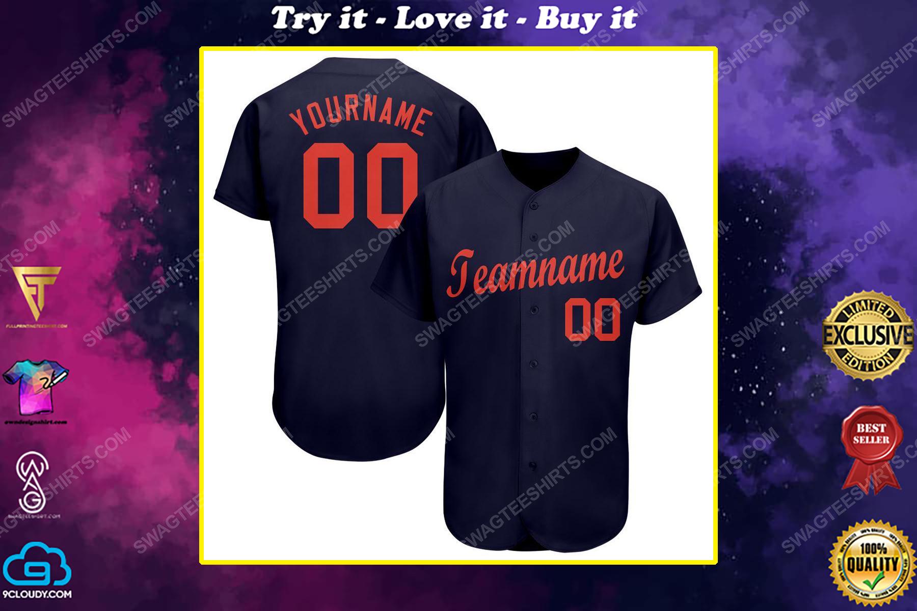 Custom team name detroit tigers major league baseball baseball jersey