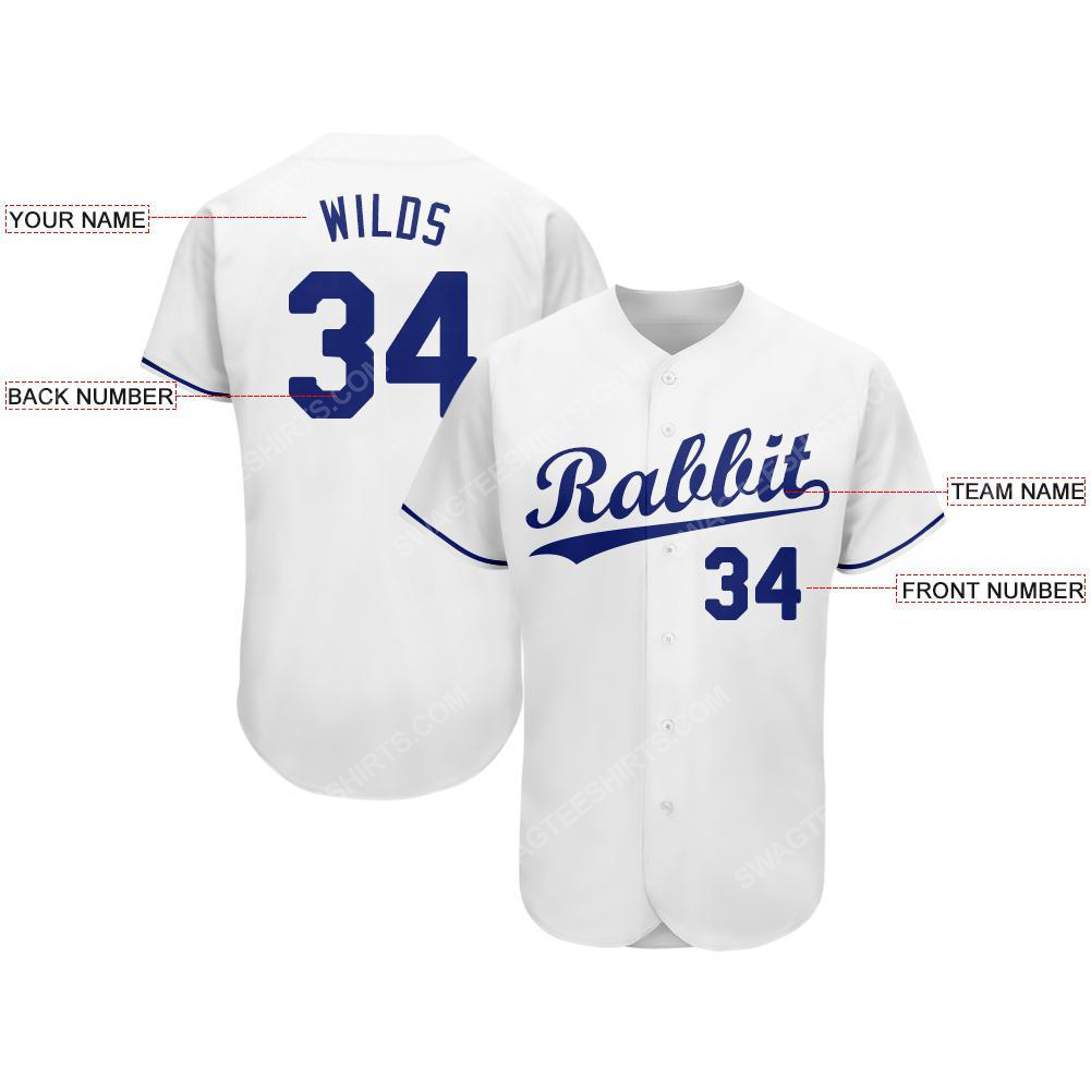 Custom team name kansas city royals major league baseball baseball jersey 2(1) - Copy