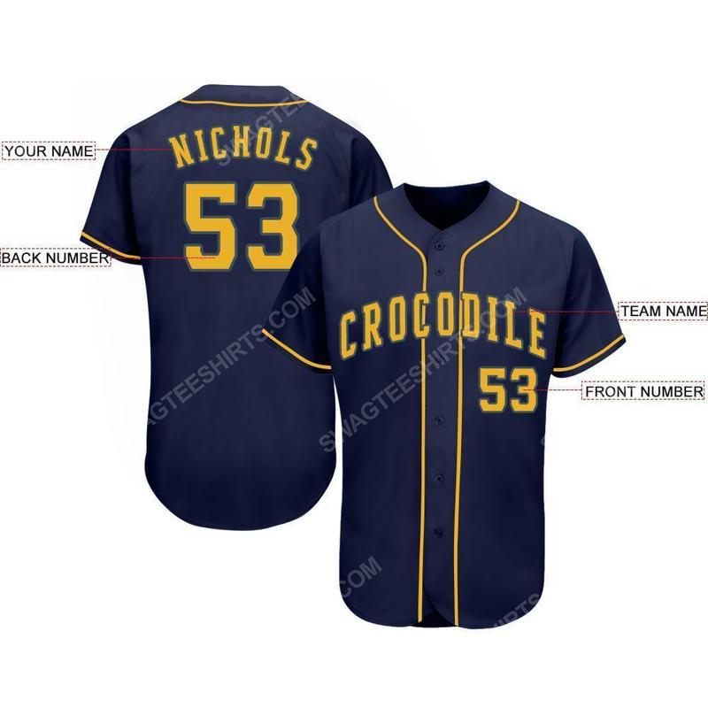 Custom team name milwaukee brewers full printed baseball jersey 2(1) - Copy