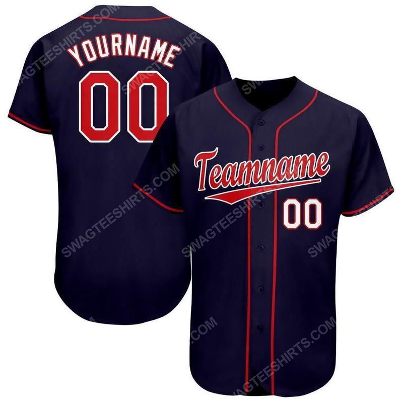 Custom team name minnesota twins baseball jersey 1(1)