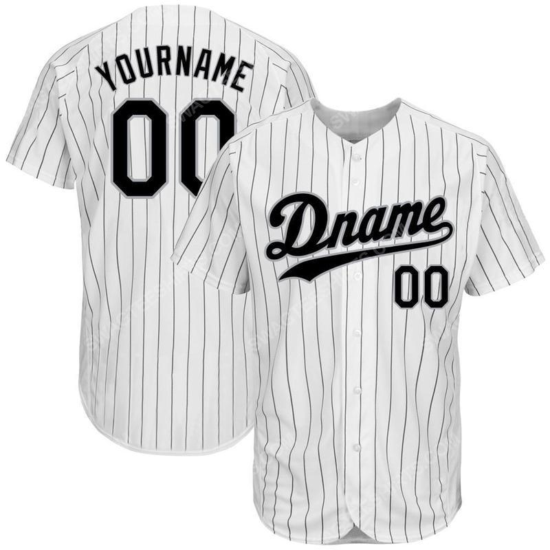 Custom team name mlb chicago white sox full printed baseball jersey 2(1)