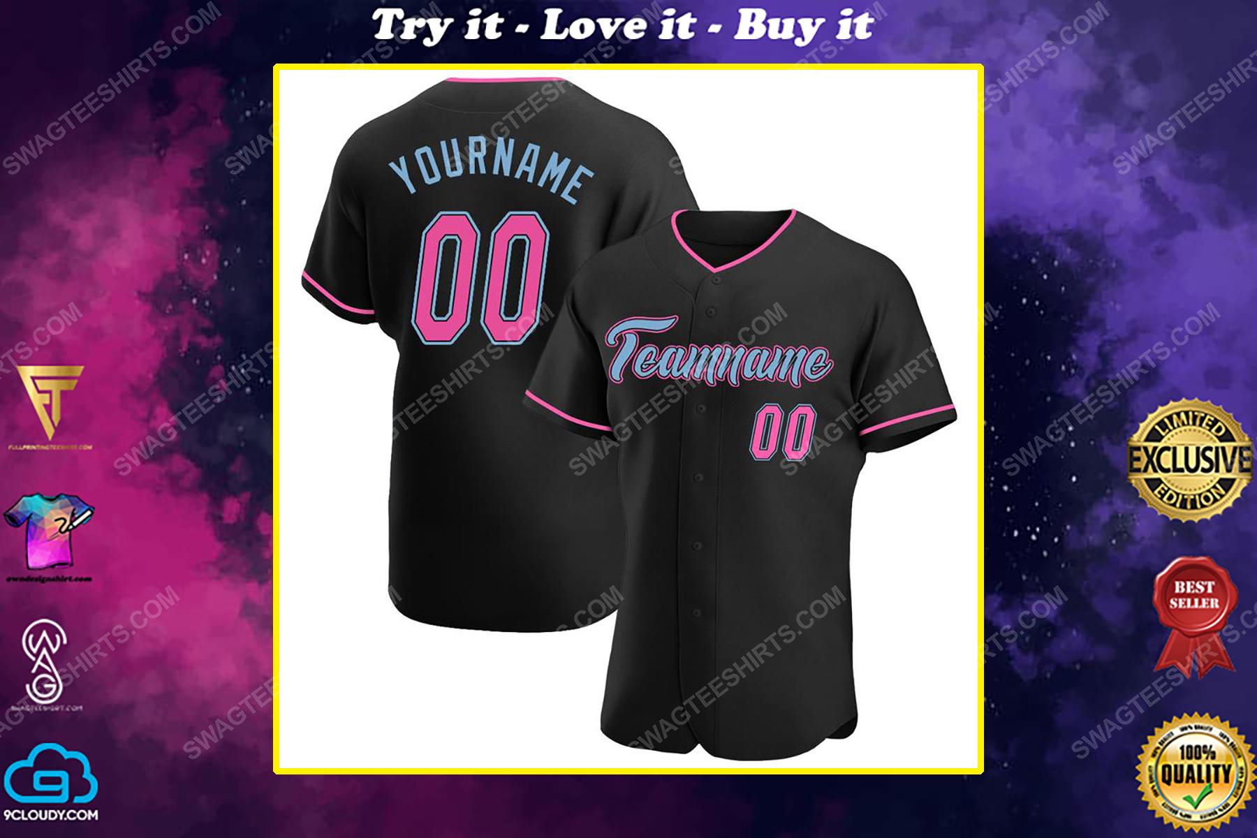 Custom team name oakland athletics full printed baseball jersey