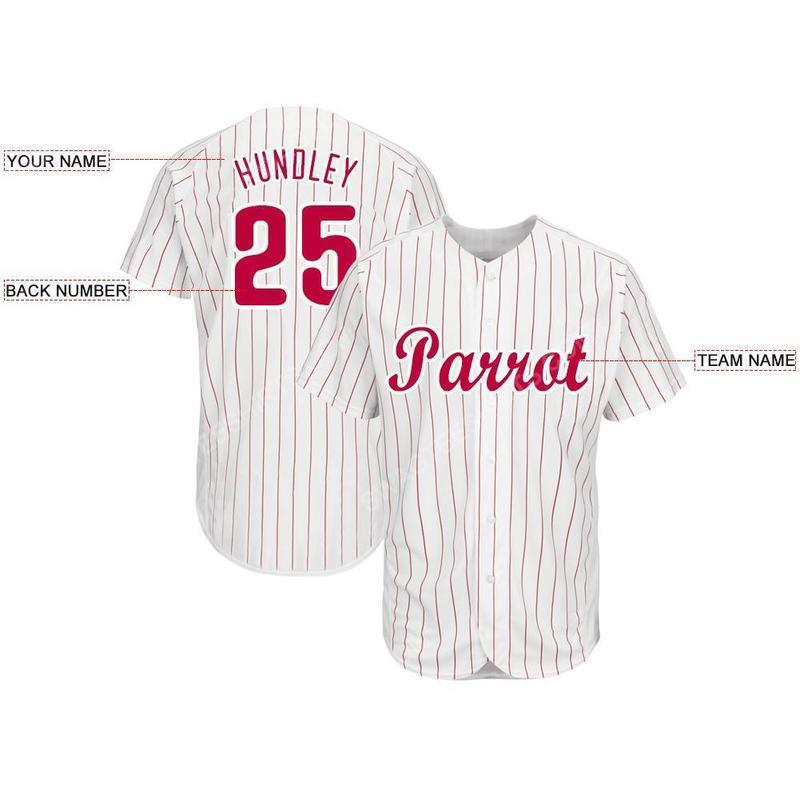Custom team name philadelphia phillies full printed baseball jersey 2(1)