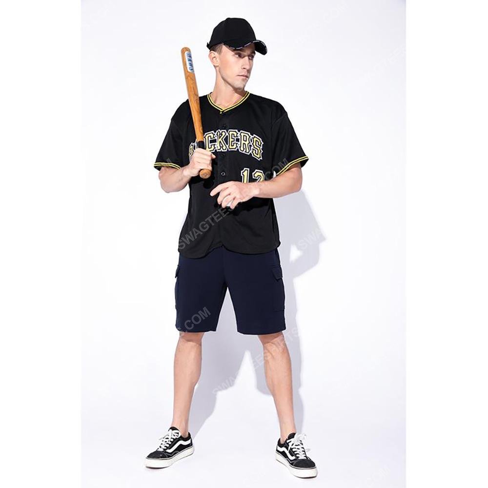 Custom team name pittsburgh pirates full printed baseball jersey 2(1)