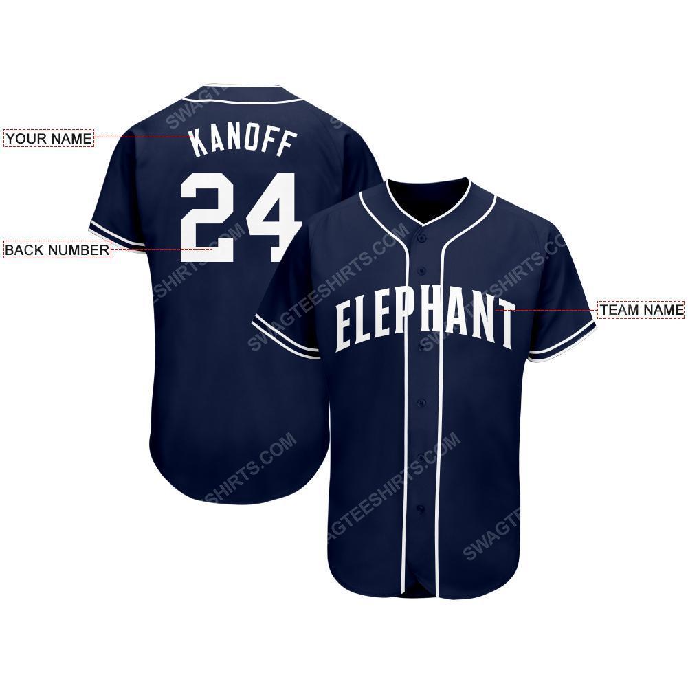 Custom team name san diego padres full printed baseball jersey 2(1)