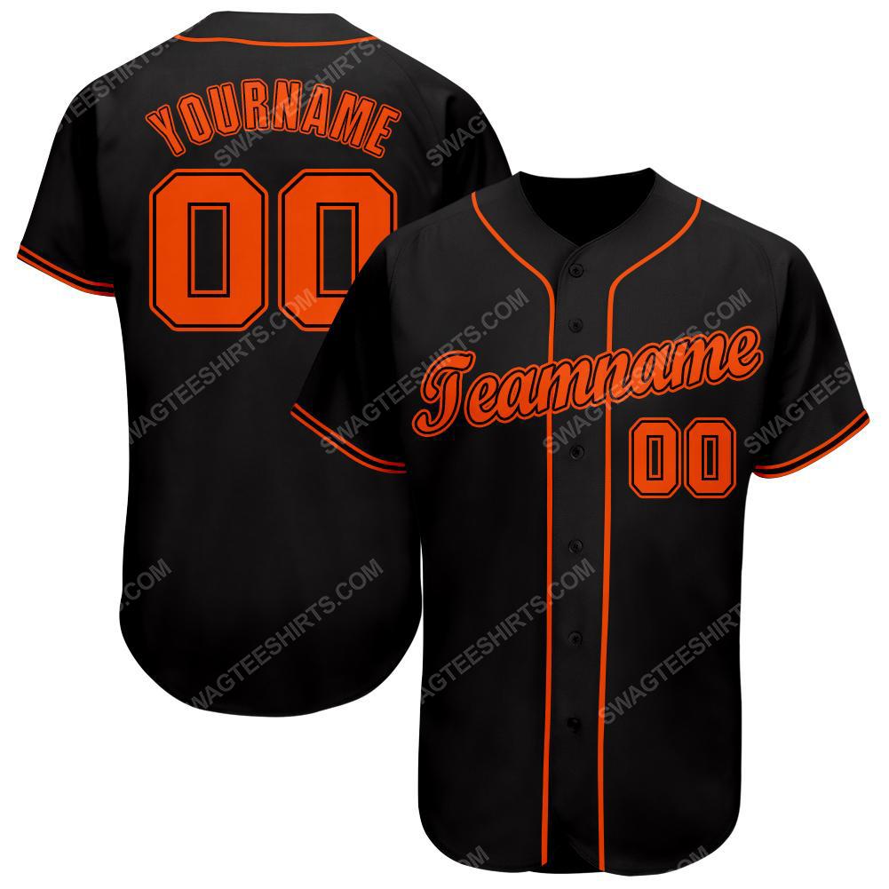 Custom team name san francisco giants full printed baseball jersey 1(1)