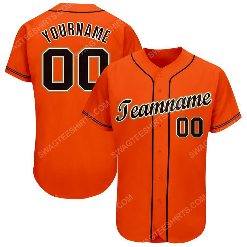 Custom team name san francisco giants mlb full printed baseball jersey 1(1)