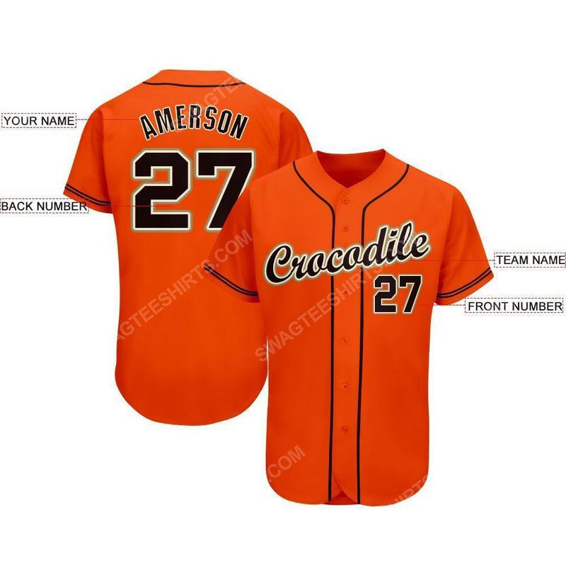 Custom team name san francisco giants mlb full printed baseball jersey 2(1)