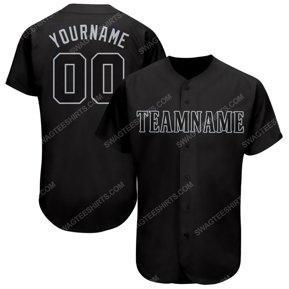 Custom team name seattle mariners mlb full printed baseball jersey 2(1)
