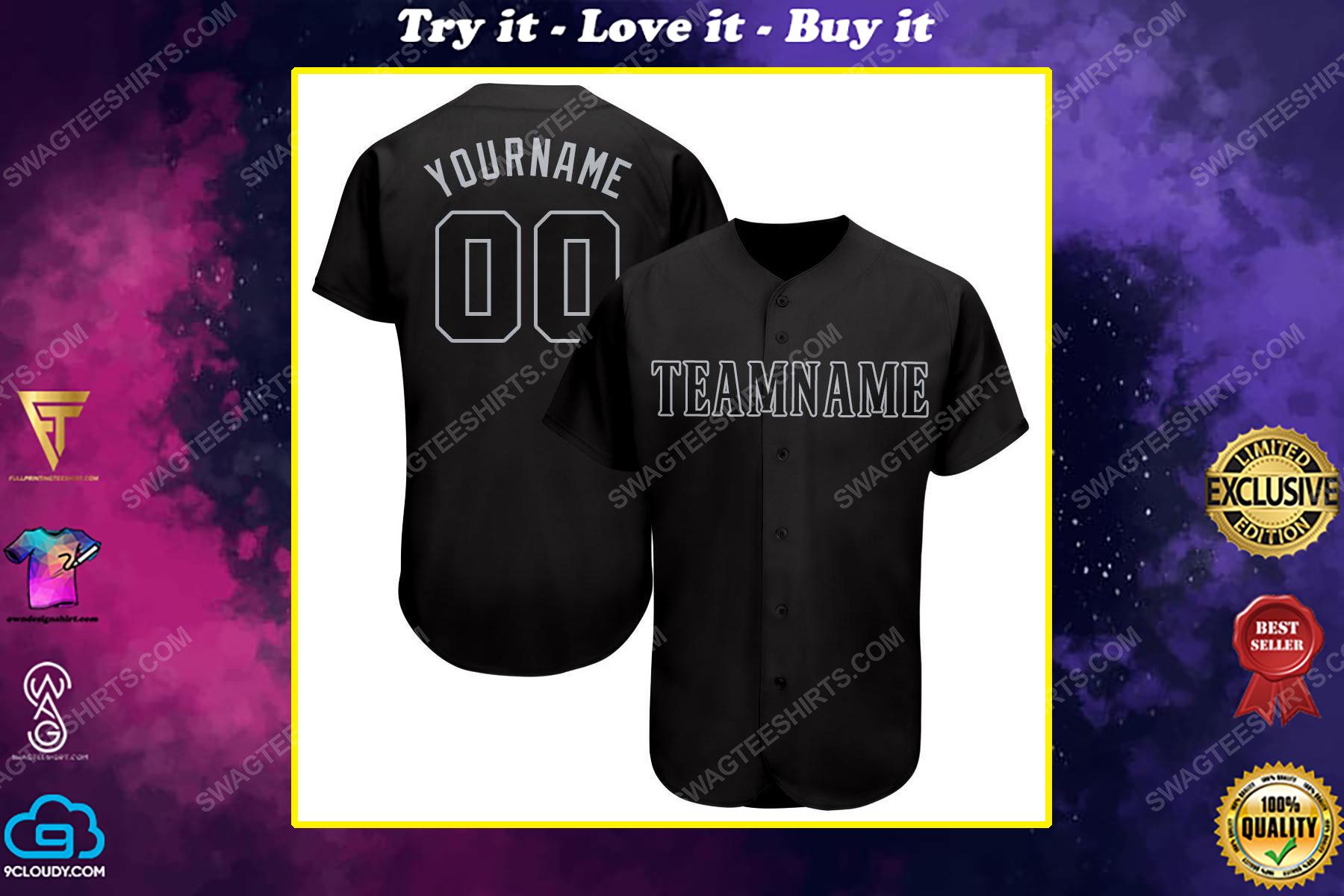 Custom team name seattle mariners mlb full printed baseball jersey