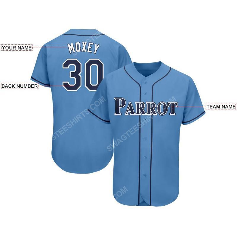 Custom team name tampa bay rays full printed baseball jersey 2(1)