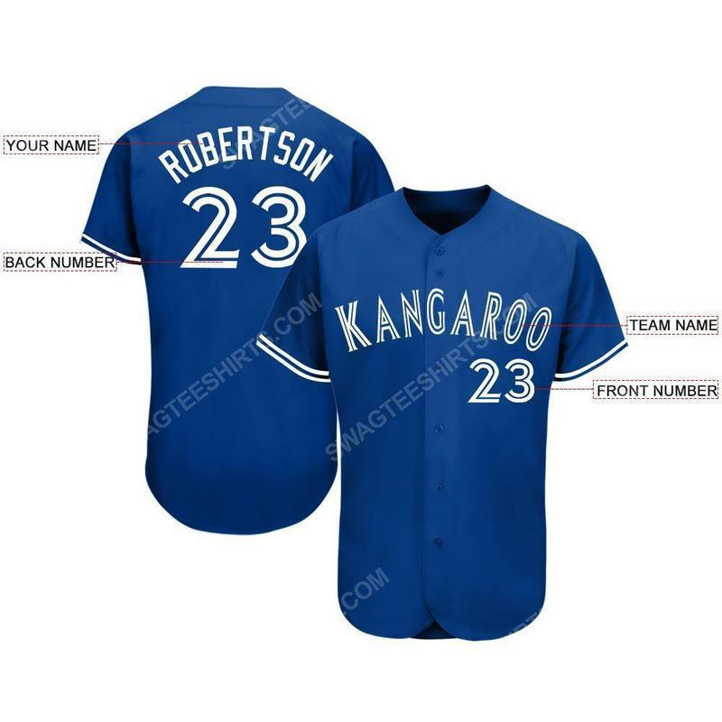 Custom team name toronto blue jays full printed baseball jersey 2(1)