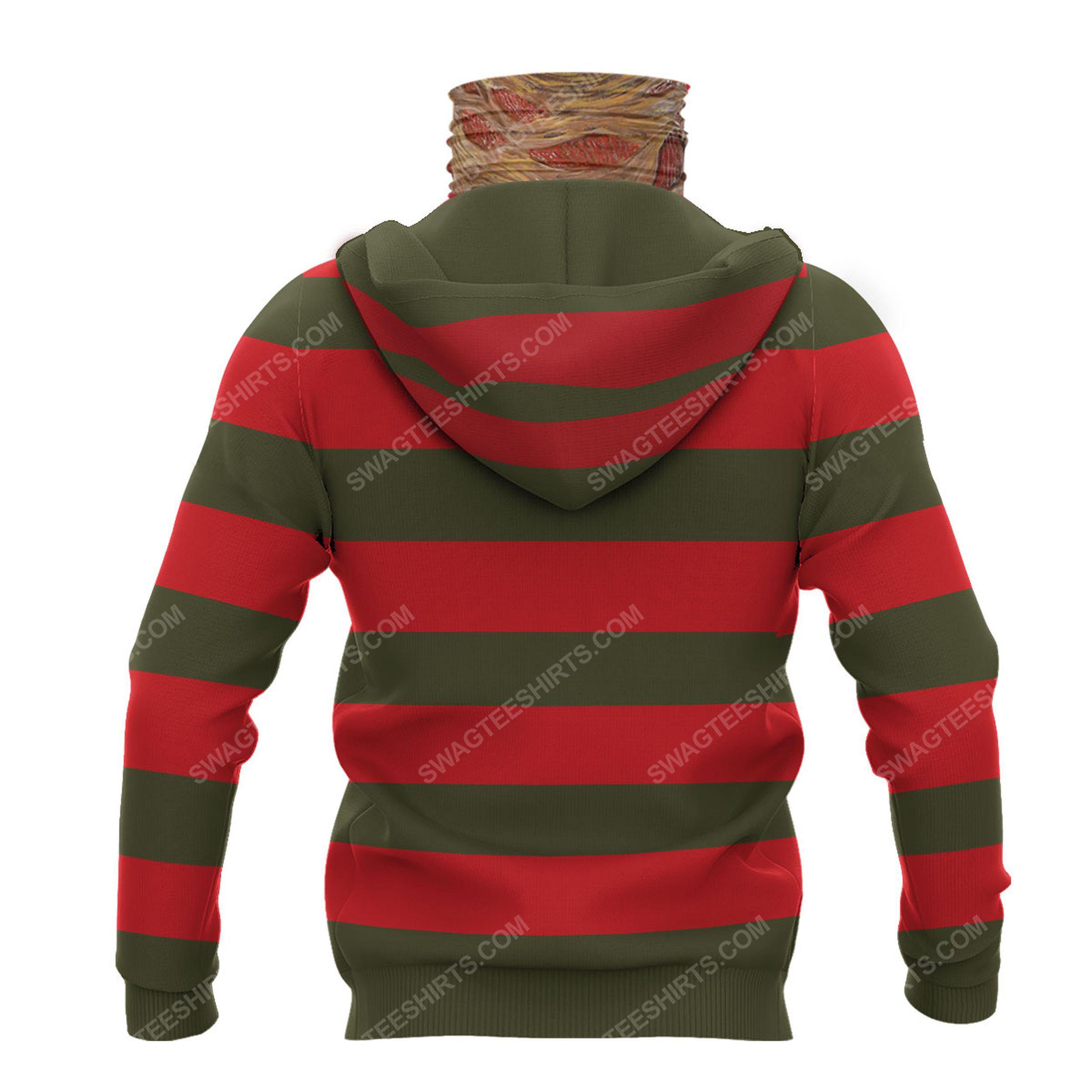 Freddy krueger a nightmare on elm street full print mask hoodie 3(1)